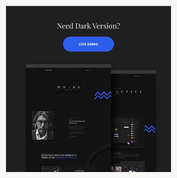 Violin Light - Portfolio HTML5/CSS3 Template - 2